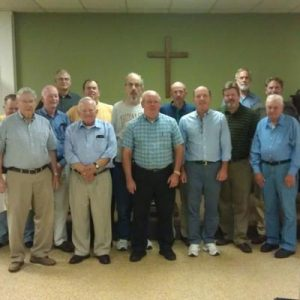 CUMC men's ministry group in Blackstone, VA