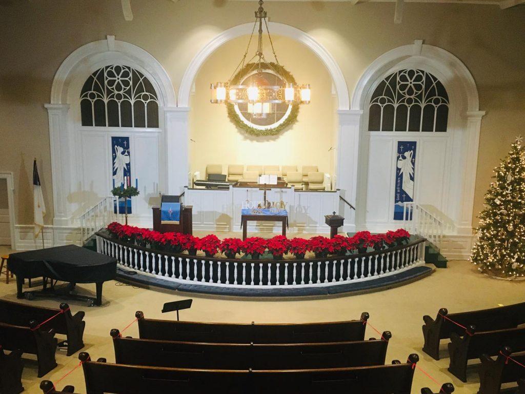 Crenshaw United Methodist Church sanctuary
