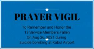 prayer vigil video still shot